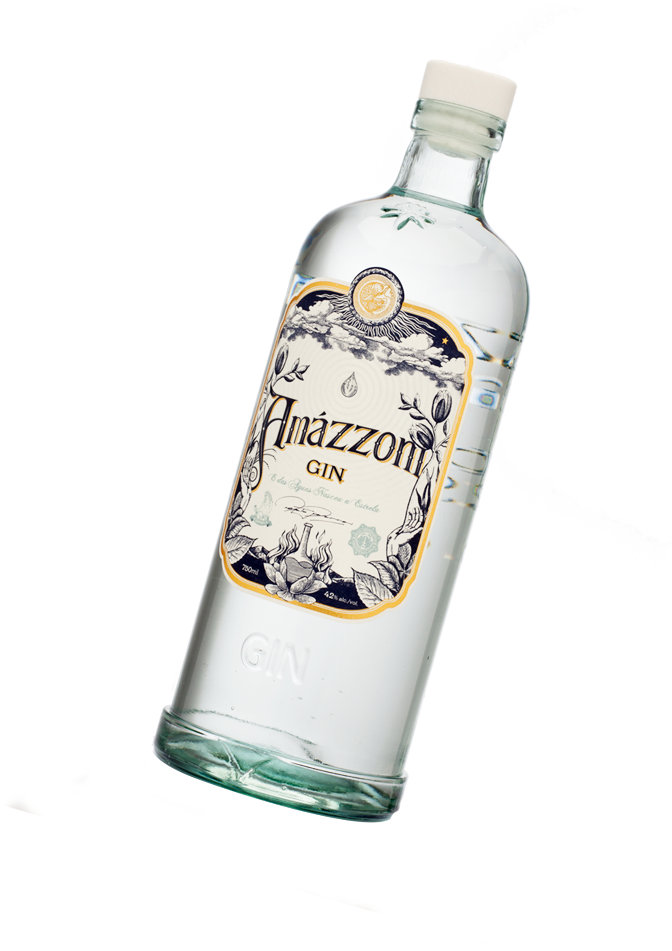 Garrafa de Amázzoni Gin